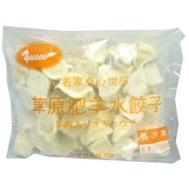 【冷凍水餃子】冷凍草原肥羊水餃子(羊肉入り水餃子)【中華食材】