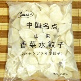 【中華点心】山東名点★香菜水餃子★【中華食材】【冷凍水餃子】