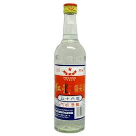 正規輸入品 紅星二鍋頭 56度 500ml入り 1本 中国お酒 高アルコール酒