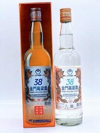 台湾の銘酒 箱付き お土産 金門高粱酒(38度/600ml)1本