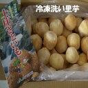 【冷凍】*福井県特産上庄洗い里芋約3K箱 【送料無料】