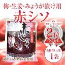 梅・ミョウガ・生姜漬け用【赤シソ】生梅4kg用1袋香り豊かな手作りをお手伝いいたします。