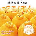 九州産でこぽん約5K化粧箱秀15玉〜22玉【送料無料】
