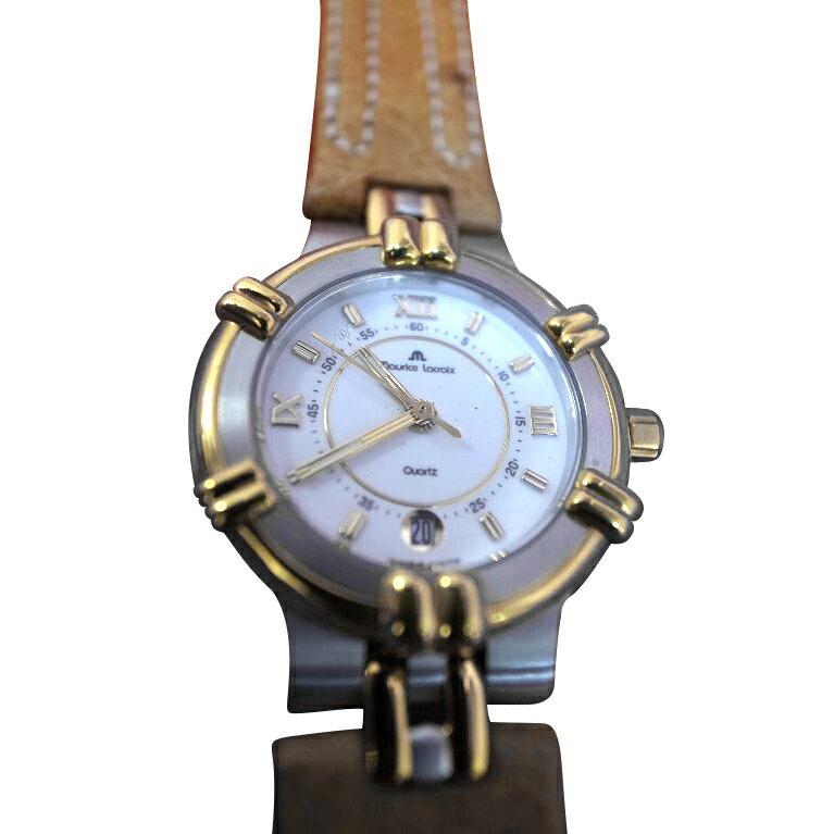 【送料・代引き手数料無料】腕時計 モーリス・ラクロア maurice lacroix レディース クォーツ デッドストック 75344-1556 【送料・代引き手数料無料】