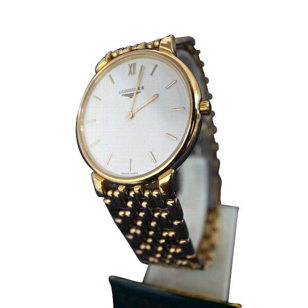 腕時計 LONGINES・ロンジン 薄型 丸型 クォーツ デッドストック  メンズ L5.636.2 27015887【送料・代引き手数料無料】