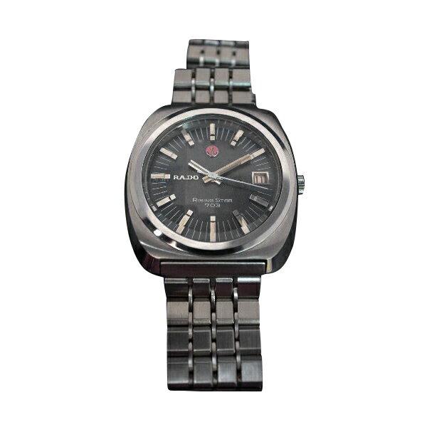 腕時計 美品 デッドストック1970年代 分解掃除 (OH済)RADO (ラドー) AUTOMATIC 自動巻 ライジングスター 703   【送料・代引き手数料無料】