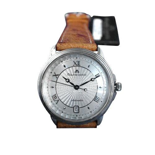 【送料・代引き手数料無料】腕時計 モーリス・ラクロア O・H済み 自動巻き  バックスケルトン デッドストック 11577-1104 【送料・代引き手数料無料】