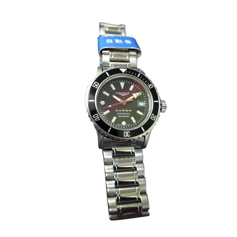 【送料・代引き手数料無料】腕時計 LONGINES アドミラル ファイブスター デッドストック レディース200MOH済 ロンジン 200METERS Ref L3.102.4.75.6 【送料・代引き手数料無料】