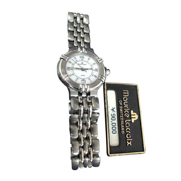 【送料・代引き手数料無料】腕時計 モーリス・ラクロア maurice lacroix レディース クォーツ デッドストック 75326-2809 【送料・代引き手数料無料】