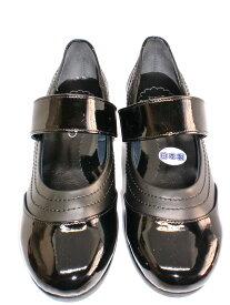 ファーストコンタクト 39011 日本製 レディース 柔らかく足あたりの良い素材を使用 美脚 カジュアルパンプス 婦人 厚底 ヒールの高さ6.5cm