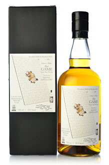 S malt (Malt Ichiro's) the GAME 5th Hanyu 13 years (Hanyu 13yo) including branch inventory [2000] mizunarawood finish #1302 * thanks, now all sold out.