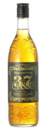 本坊酒造 マルス ウイスキー3&7 (ブレンデッド)