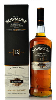 ■ Bowmore 12 years 新瓶 (1000 ml) * here is per concurrent product and image may differ.