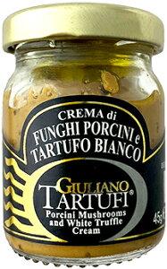 ◆ポルチーニ&白トリュフ・クリーム(イタリア産) ジュリアーノ・タルトゥーフィ【CREMA di FUNGHI PORCINI e TARTUFO BIANCO/GIULIANO TARTUFI】※こちらはソースタイプです。