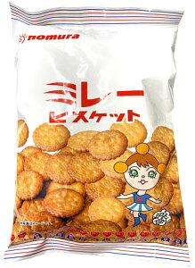 【取寄商品・送料無料20】ミレービスケット 200g20個セットnomura【Biscuit/おやつ/クッキー】※ご注文後のキャンセルはできません!※元から割れているものもございます!