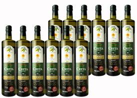 【1個1274円(税抜)/12個セット/750ml】エクストラ バージン オリーブオイルクレタ・ラチマス【CRETA Latzimas/Extre Virgin Olive Oil】※1セットで1口分の送料です!