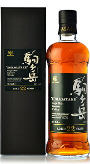 Single malt komagatake Deng Yue 22,