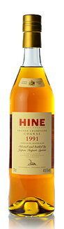Early landed Hine SELECTED AND BOTTLED BY JIS