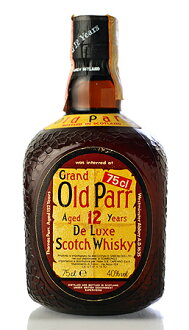 Old Parr aged 12 years 1980s distribution products