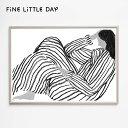 Fine Little Day ポスター BORED (70×50cm) ファインリトルデイ アートプリント 北欧 スウェーデン 北欧インテリア …