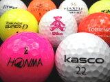 【送料無料】ロストボール・カラーボール混合30P【ロストボール】【ゴルフボール】【あす楽対応_近畿】【中古】