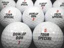 【送料無料】ダンロップDDH ツアースペシャル 黒 30P【ロストボール】【ゴルフボール】【あす楽対応_近畿】【中古】
