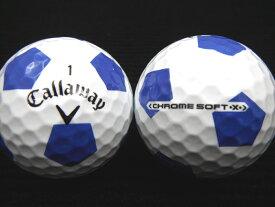 Callaway キャロウェイCHROME SOFT・X・TRUVIS 17年モデルホワイト×ブルー【あす楽対応_近畿】【中古】