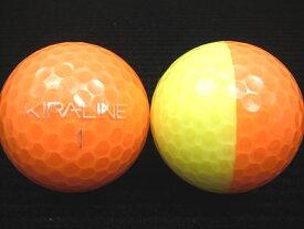 KASCO キャスコ KIRA-LINE17年モデルオレンジ/イエロー【ロストボール】【ゴルフボール】【あす楽対応_近畿】【中古】