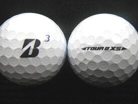 BRIDGESTON GOLF ブリヂストンゴルフ TOUR B XS 17年モデル Bマーク ホワイト ゴルフボール ロストボール【あす楽対応_近畿】【中古】