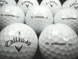 送料無料 Callaway キャロウェイ ウォーバード 17年モデル ホワイト 30P ロストボール ゴルフボール 【あす楽対応_近畿】【中古】