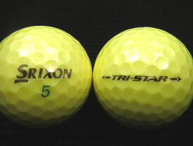 SRIXON スリクソン TRI−STAR 17年モデル プレミアムパッションイエロー 20P 【送料無料】【あす楽対応_近畿】【中古】