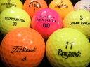 【送料無料】ランク2 高品質ロスト カラーボール混合 30P 【ロストボール】【ゴルフボール】【あす楽対応_近畿】【中古】