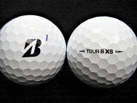 BRIDGESTON GOLF ブリヂストンゴルフ TOUR B XS 20年モデル ホワイト 【ゴルフボール】 【ロストボール】【あす楽対応_近畿】【中古】