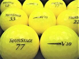 【送料無料】BRIDGESTON GOLF ツアーステージ V10 12年モデル スーパーイエロー 20P 【ロストボール】【ゴルフボール】【あす楽対応_近畿】【中古】