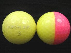 KASCO キャスコ KIRA-LINE16年モデルイエロー/ピンク【ロストボール】【ゴルフボール】【あす楽対応_近畿】【中古】