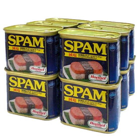 スパム12缶セット【減塩】340g×12缶 新栄商店 スパムポーク 沖縄 スパムおにぎり 防災備蓄用 全国送料無料