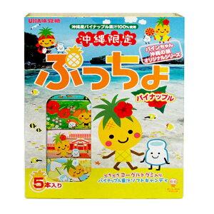 ぷっちょパイナップル5本入り×1箱セット
