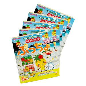 ぷっちょパイナップル5本入り×5箱セット