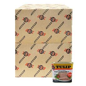 チューップポーク 340g×48缶セット 新栄商店 チューリップポーク 沖縄 ポーク玉子おにぎり 防災備蓄用 全国送料無料