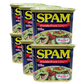 スパムうす塩 340g×6缶セット 新栄商店 スパムポーク 沖縄 スパムおにぎり 防災備蓄用 レターパック520発送