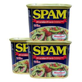 スパムうす塩 340g×3缶セット 新栄商店 スパムポーク 沖縄 スパムおにぎり 防災備蓄用 レターパック520発送