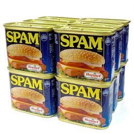 スパムレギュラー 340g×12缶セット 新栄商店 スパムポーク 沖縄 スパムおにぎり 防災備蓄用 全国送料無料