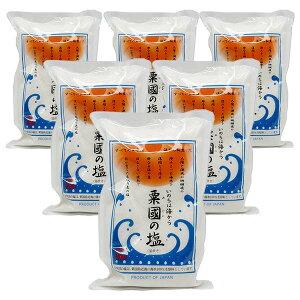 粟国の塩(500g×6袋セット)全国送料無料