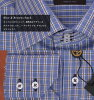Mario Ferrara long-sleeved check shirt/ World's best Italian men's shirt brand Mario Ferrara/ business shirt/ Y shirt/ formal/ birthday/ Turnbull & Assa/ Paul Smith/ Burberry/ Father's day