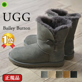 018bcfd12df UGG boots/ Genuine UGG boots has been sold out quickly in japan/ Classic/  short boots/ Grey/ black/ tea/ regular goods/ UGG australia/ Bailey Button/  ...