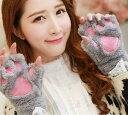 手袋 肉球 猫 ねこ スマホ スマホ手袋 コスプレ 仮装 防寒 ハロウィン 追跡番号あり