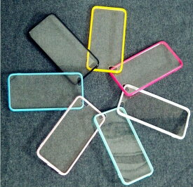 スマホケース ストラップホール付 6色 アクリル製 iPhone X/8/8Plus/7/7Plus 対応