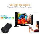 AnyCast Wi-Fi ミラーリング iPhone/android/Mac/Windows Samsung Huawei Xperia テレビ ゲーム YouTube 中継 動画 画…