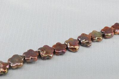 淡水 真珠  13mm  フラワー  ネックレス  コパー  532P15May16   ポイント5倍