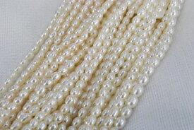 淡水 真珠  3mm  ライス  ネックレス  ホワイト オレンジ パープル ブラック 選択 グレー入荷